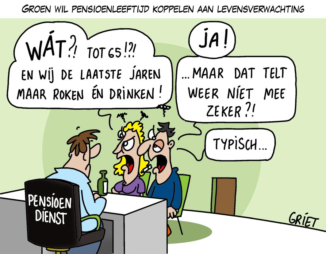 Cartoon Van De Dag Griet Cartoons