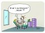 Cartoons voor wachtzaal kiné-praktijk